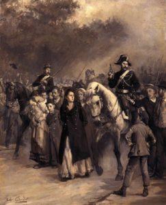 Arrestation de Louise Michel