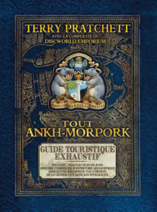 Couverture Tout Ankh-Morpork Terry Pratchett Atalante