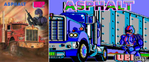Jeu video Asphalt Amstrad