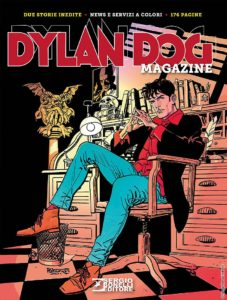 Couverture Dylan Dog Tiziano Sclavi
