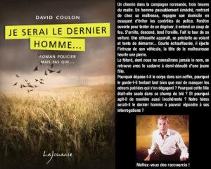 Couverture Je serai le dernier homme David Coulon éditions Lajouanie