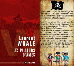 Couverture Les pilleurs d'âmes Laurent Whale