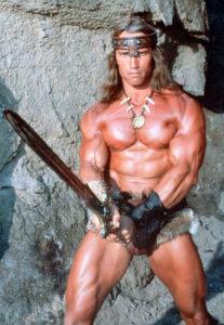 Conan le barbare et son braquemart