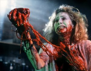 Bride of Re-Animator le coeur sur la main