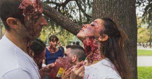 zombie maquillage makeup