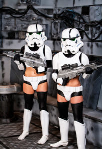 Sexy stormtroopers