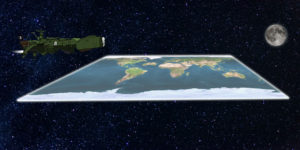 Terre plate par Un K à part