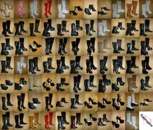Collection bottes ballets boots cuissardes compensées
