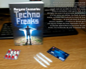 Couverture Techno Freaks Morgane Caussarieu
