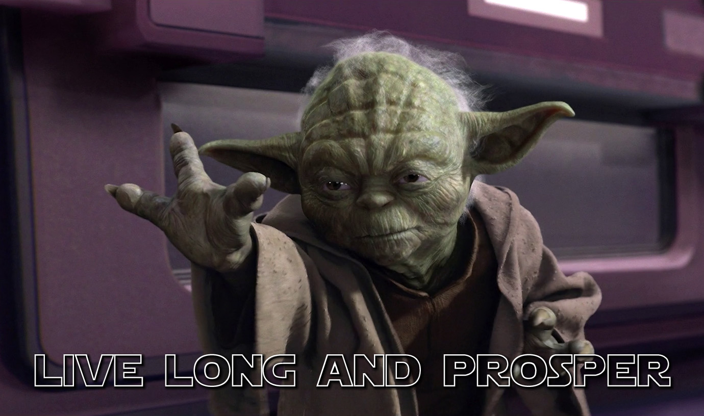 Détournement Yoda Spock Sign par Un K à part