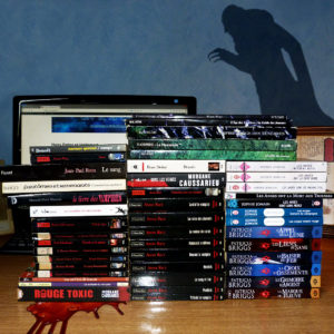 Collection livres vampire