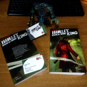 Couverture Harley King Patrick Mc Spare Scrineo