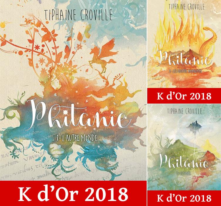 Trilogie Phitanie K d'Or 2018