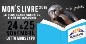 Affiche salon Mon's Livre 2018