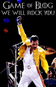 Freddie Mercury We will rock you Gilet jaune