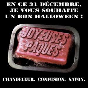 Voeux 2019 Halloween Pâques Chandeleur