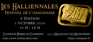 Halliennales 5 octobre 2019 Un K à part Gold edition