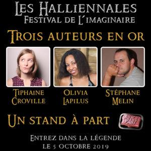Halliennales 2019 Tiphaine Croville Olivia Lapilus Stéphane Melin Un K à part