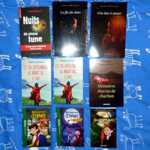 Achats salon livre francophonie Abbeville 2019