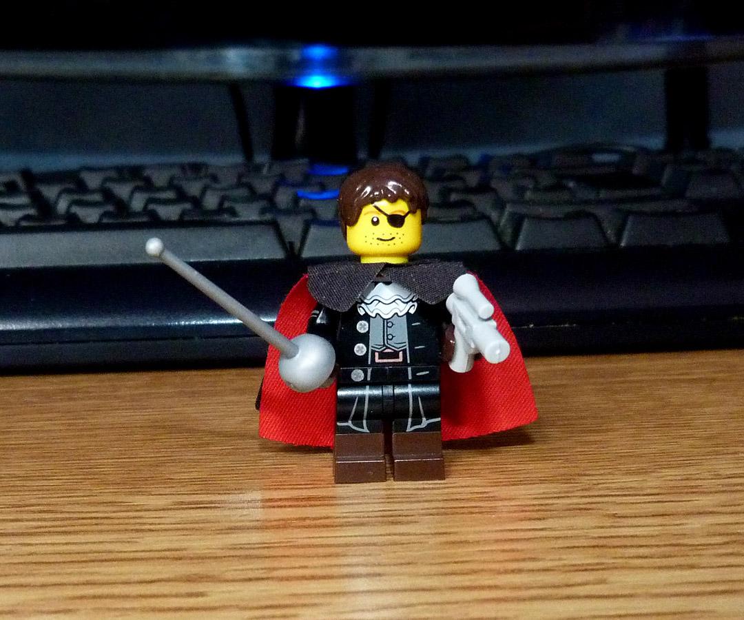 Albator Harlock Lego custom