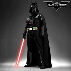 Détournement Batman Dark Knight Star Wars DarthVader par Un K à part