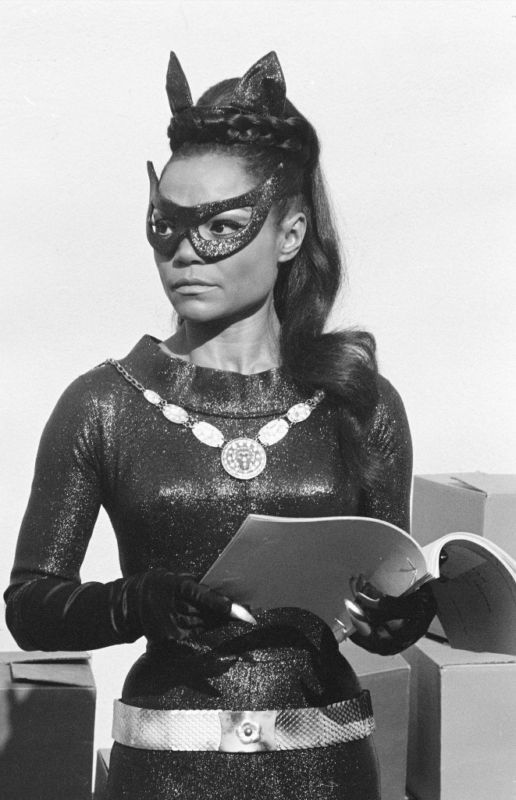 Eartha Kitt Catwoman Batman