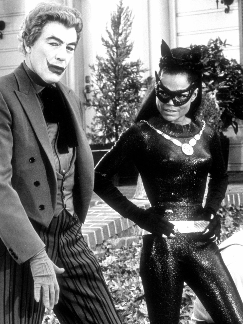 Eartha Kitt Catwoman Joker
