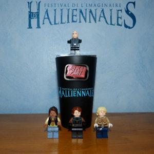 Halliennales figurines Lego Fred K Olivia Lapilus Stéphane Melin Tiphaine Croville