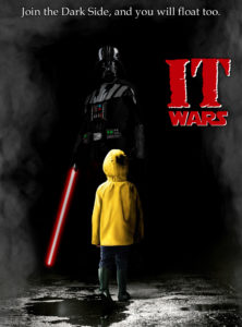 Darth Vader Georgie we all float Stephen King It