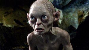 Gollum hobbit joufflu