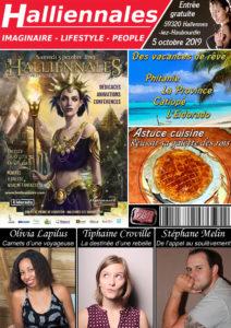 Halliennales magazine imaginaire lifestyle people Olivia Lapilus Tiphaine Croville Stéphane Melin