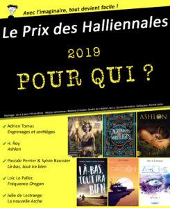 Nominations Prix des Halliennales 2019 montage Un K à part