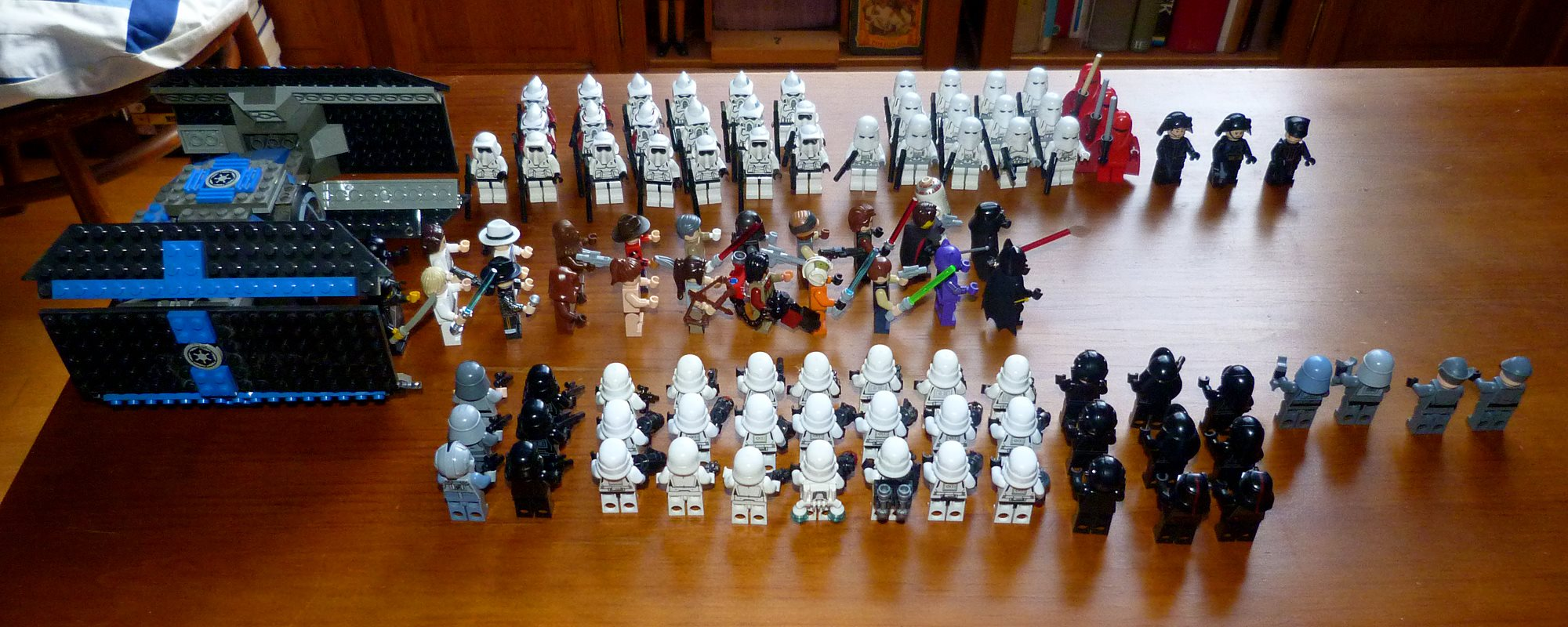 Star Wars collection figurines Lego