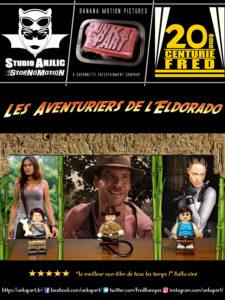Lego aventuriers Eldorado affiche poster