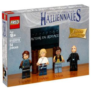 Boîte collector Lego Halliennales blog Un K à part vue 3D