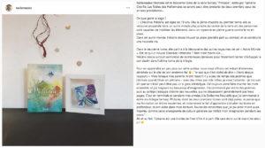 Tiphaine Croville trilogie Phitanie présentation Halliennales 2019 Instagram