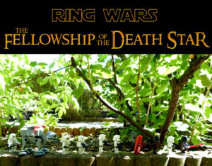 Star Wars Lord of the Rings Lego Communauté de l'anneau