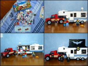 Lego City 60182 vacances mobil home