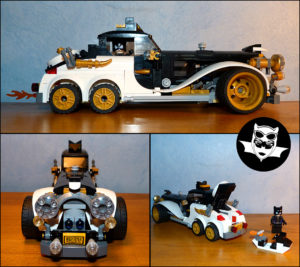 Lego MOC voiture Catwoman Catmobile