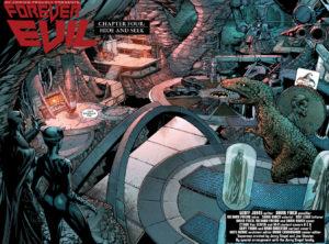 DC Comics Forever Evil Batman Catwoman Batcave