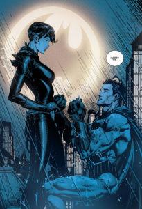 Batman demande en mariage Catwoman