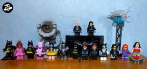 Casting projet Batcave Lego batsignal Batman Catwoman Bruce Wayne Selina Kyle Medusa Wonderwoman
