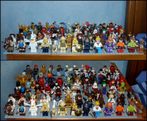 Collection figurines Lego minifigs minifigures