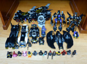 Collection Lego Batman Catwoman Batmobile Batwing Mighty Micros