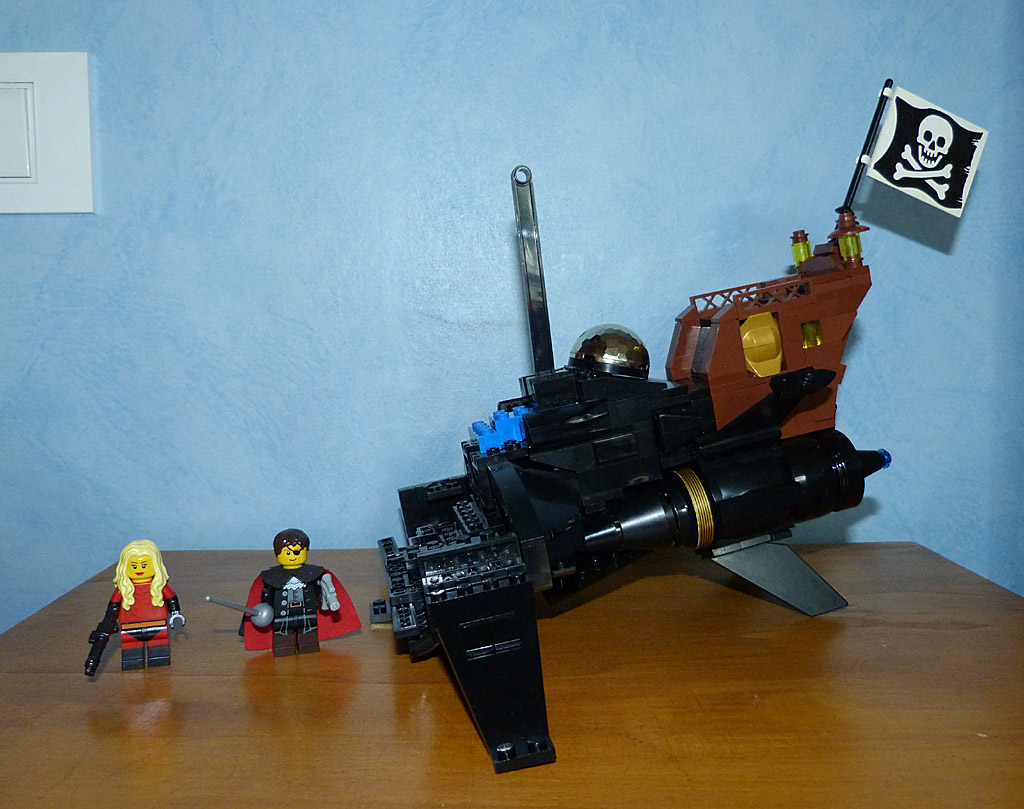 Lego MOC Death Shadow Albator