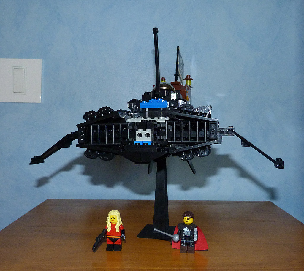 Lego MOC Death Shadow Harlock