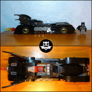 Lego Batman Batmobile La poursuite du Joker 76119 DC Comics
