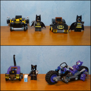 Lego Mighty Micros DC Super Heroes 76061 76092 Catwoman Catcycle Chase 70902 Lego movie