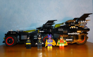 Ultimate Batmobile Alfred Batman Batgirl Robin Lego movie 70917