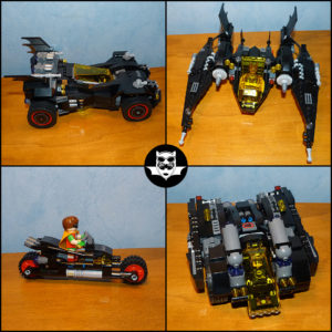 Lego Ultimate Batmobile Alfred Batman Batgirl Robin 70917